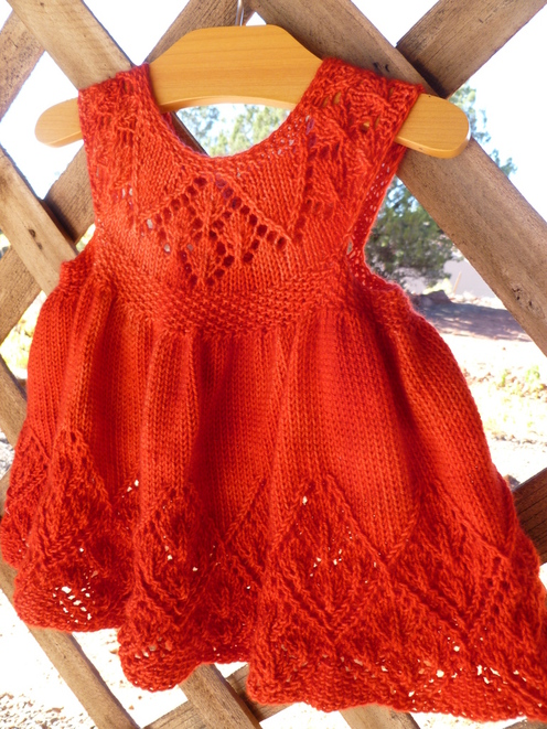 Knit/Crochet Dresses on Pinterest Baby Dresses, Knitting ...